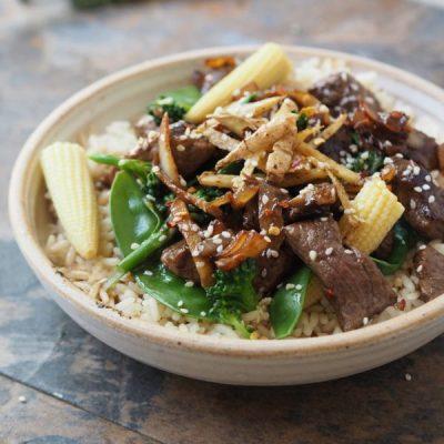 ldnm Oriental Beef Stir Fry recipe