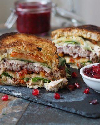 high protein sandwiches