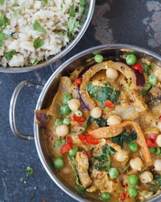 vegan curry recipe