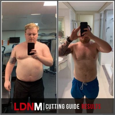 24kg of fat loss with the cutting guide