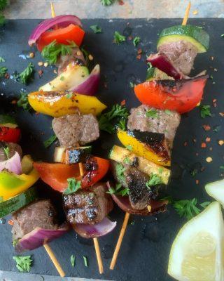 Protein Beef Kebabs